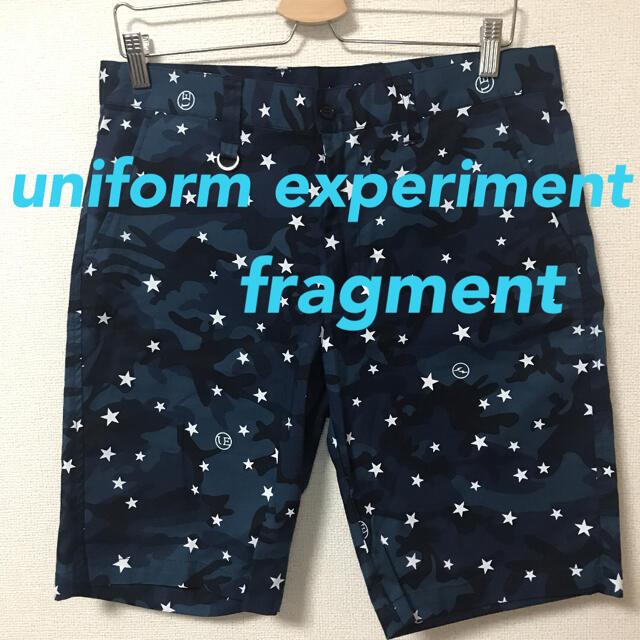 uniform experiment(ユニフォームエクスペリメント)のユニフォームエクスペリメント フラグメント カモフラ ショーツ 総柄 メンズのパンツ(ショートパンツ)の商品写真