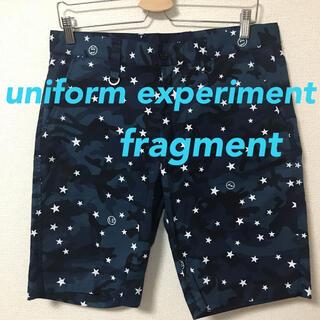 uniform experiment - ユニフォームエクスペリメント フラグメント カモフラ ショーツ 総柄