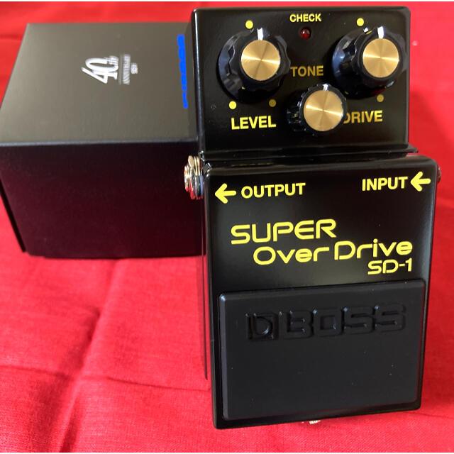 BOSS(ボス)の【40周年記念限定モデル】BOSS / SD-1-4A 新品・未使用 楽器のギター(エフェクター)の商品写真