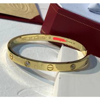 Cartier - Cartier カルティエ ラブブレス 4P ダイヤモンド