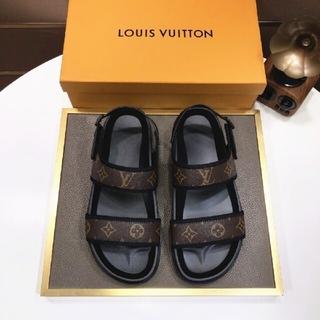 ルイヴィトン(LOUIS VUITTON)の極美品高品質スニーカーサンダル -106873(ポーチ)