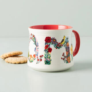 アンソロポロジー(Anthropologie)のナタリーレテ アンソロポロジー マムマグカップ(グラス/カップ)