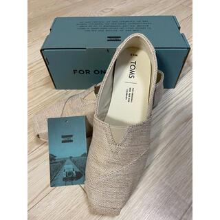 TOMS - TOMS Natural Metalic Woven WMN6.5