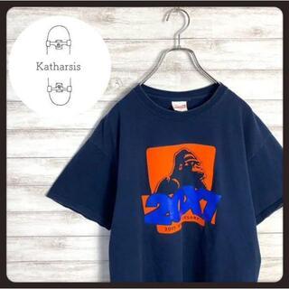 エクストララージ(XLARGE)の【入手困難】エクストララージ ゴリラロゴ ネイビー ビックサイズ Tシャツ(Tシャツ/カットソー(半袖/袖なし))