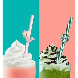 スターバックスコーヒー(Starbucks Coffee)のボン様専用ページスターバックス中国夏限定 繰り返し使えるストロー2(タンブラー)