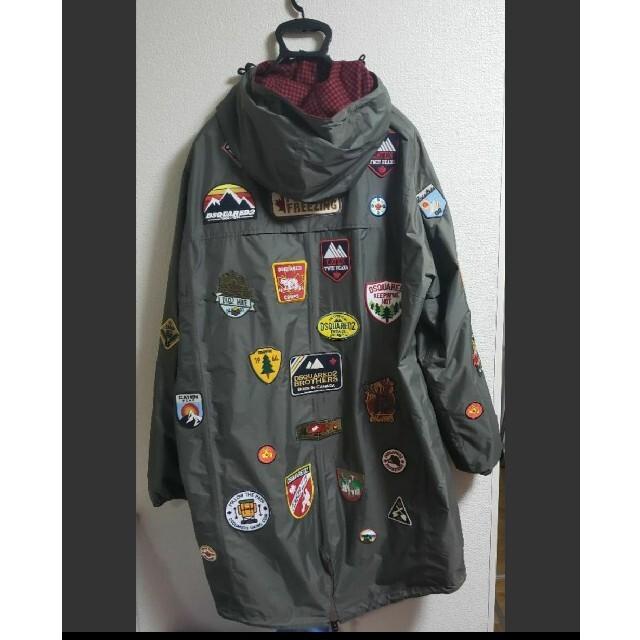 DSQUARED2(ディースクエアード)のディースクエアード DSQUARED2 ワッペンリバーシブルジャケット サイズM メンズのジャケット/アウター(ナイロンジャケット)の商品写真