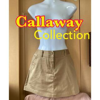 Callaway Golf - キャロウェイ レディースゴルフウェア スカート 美品 M