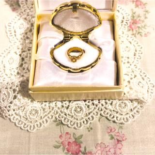 ジュエリーマキ(ジュエリーマキ)の(美品)ベビーリング  K18 11月生まれの赤ちゃん 誕生石(リング(指輪))