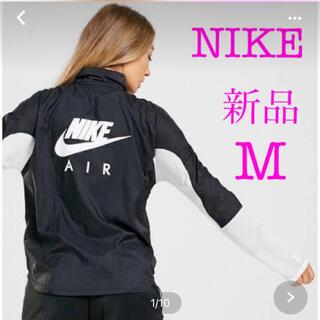 NIKE - NIKE ビッグロゴ フルジップ ナイロンジャケット ランニング 日焼対策 M