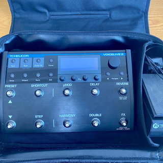 TC HELICON VoiceLive 2 +エクスプレッションペダル(エフェクター)