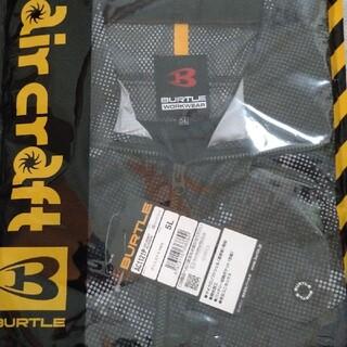 バートル(BURTLE)のバートル空調服長袖ブルゾン5L!カモフラブラック!(ブルゾン)