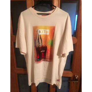キース(KEITH)の【M】 Kith X Coca-Cola Vintage Tee - Ivory(Tシャツ/カットソー(半袖/袖なし))