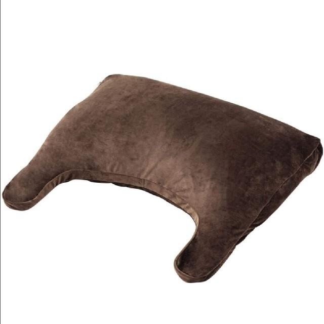エムール 枕 まくら ブラウン 日本製  インテリア/住まい/日用品の寝具(枕)の商品写真