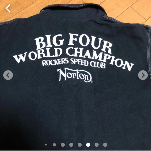 Norton(ノートン)のNorton半袖ポロシャツ  XXL メンズのトップス(ポロシャツ)の商品写真