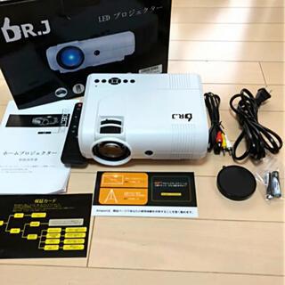 新品開封品 家庭用、ビジネス用多機能LED プロジェクター 動作品(プロジェクター)