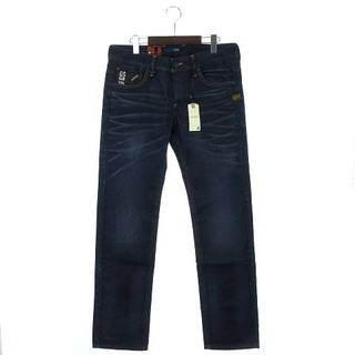 ジースター(G-STAR RAW)の未使用品 ジースターロウ 5204 デニム パンツ 紺系 W32(デニム/ジーンズ)