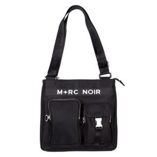 OFF-WHITE - M+RC NOIR MESSENGER RAINBOW BUCKLE BAG