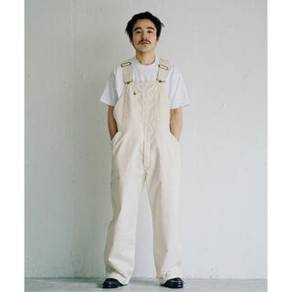 Lee - Lee × L'ECHOPPE LOW BUCK OVERALL NATURAL