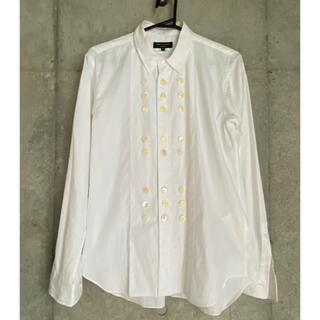 COMME des GARCONS HOMME PLUS - 【レア品】COMME des GARCONS 装飾ドレスシャツ