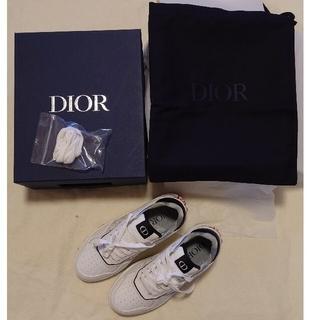 ディオール(Dior)の【新品】DIOR B27 ロートップスニーカー 限定stussyコラボ(スニーカー)