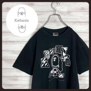 アベイシングエイプ(A BATHING APE)の【入手困難】90s アベイジングエイプ ベイプ エイプヘッドアーチロゴ Tシャツ(Tシャツ/カットソー(半袖/袖なし))