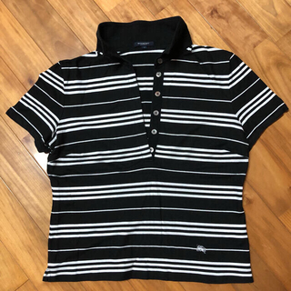 バーバリー(BURBERRY)のBURBERRY LONDON ボーダー ポロシャツ(ポロシャツ)