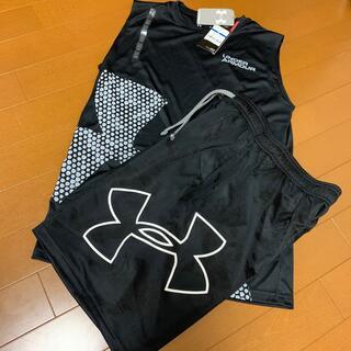 アンダーアーマー ノースリーブシャツ パンツ 160