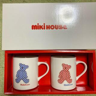 ミキハウス(mikihouse)のミキハウス レトロ マグカップ 未使用(マグカップ)