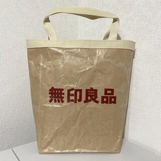 ムジルシリョウヒン(MUJI (無印良品))の【ハンドメイド】紙袋リメイクトートバッグ【無印良品】(バッグ)