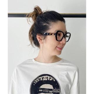 L'Appartement DEUXIEME CLASSE - 【EMMANUELLE KHANH/エマニュエル・カーン】メガネ  ブラック