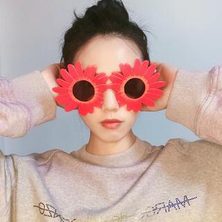 新品 おもしろメガネ コスプレグッズ かわいい花 眼鏡 パーティー用品 イベント(小道具)
