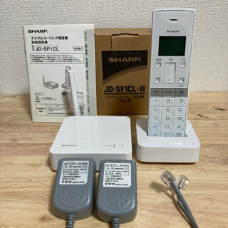 シャープ(SHARP)のデジタルコードレス電話機 (その他)