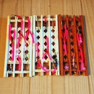 ハンドメイド釣り仕掛け②2本針 9本(釣り糸/ライン)