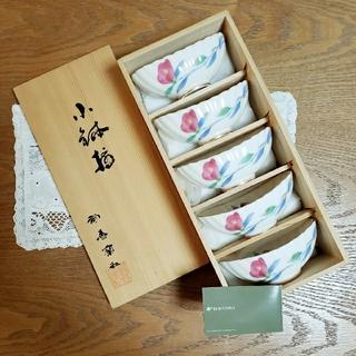 コウランシャ(香蘭社)の香蘭社 金彩 椿 小鉢 5個セット 新品(食器)