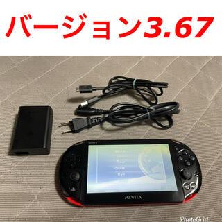 PlayStation Vita - vita レッドブラック 1