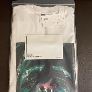 """ベドウィン(BEDWIN)のBEDWIN ベドウィン Tシャツ """"M SHELLY"""" WHITE サイズ2 (Tシャツ/カットソー(半袖/袖なし))"""