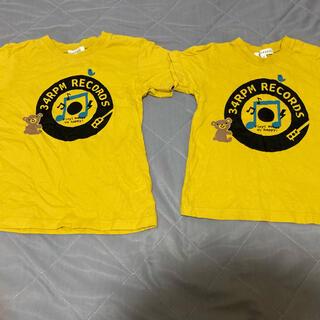 サンカンシオン(3can4on)のTシャツ お揃い きょうだい 90 110(Tシャツ/カットソー)