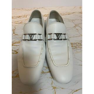 ルイヴィトン(LOUIS VUITTON)のLV ルイヴィトン LOUIS VUITTON 本革 レザー 革靴(スリッポン/モカシン)
