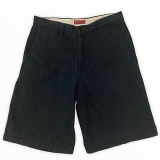 schott - SCHOTT NYC COTTON BOX LOGO HALF PANTS