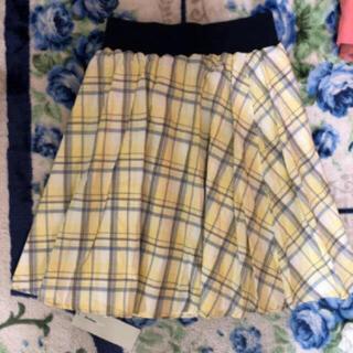 オリーブデオリーブ(OLIVEdesOLIVE)の新品、オリーブデオリーブ、チェック柄スカート(ひざ丈スカート)