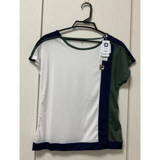 フィラ(FILA)の新品 今季 Fila フィラ  ゲームシャツ Tシャツ L  LVL2336(ウェア)