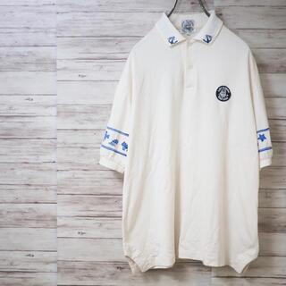 シナコバ(SINACOVA)のSINA COVA 90's マリンモチーフ レトロポロシャツ(ポロシャツ)