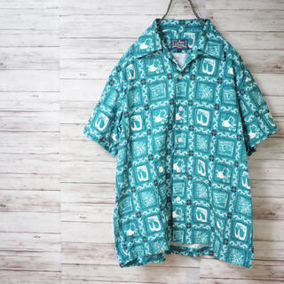 ステュディオダルチザン(STUDIO D'ARTISAN)のStudio D'artisan 16SS オリジナルアロハシャツ(シャツ)