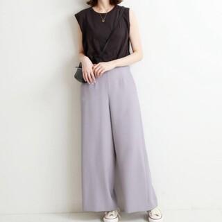 IENA - イエナ♡スラブオックスフレアパンツ 36