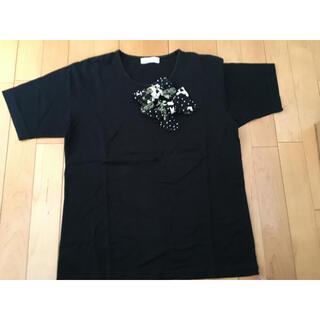 ピンクハウス(PINK HOUSE)のピンクハウス SHOWTIME リボン半袖Tシャツ(シャツ/ブラウス(半袖/袖なし))