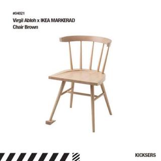イケア(IKEA)のVirgil Abloh×IKEA イス 椅子 チェア OFF WHITE (ダイニングチェア)