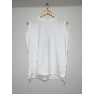テチチ(Techichi)の【techichi】カットソー・ノースリTシャツ 白・ホワイト フリーサイズ(Tシャツ(半袖/袖なし))
