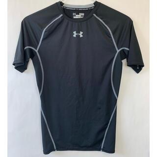 UNDER ARMOUR - アンダーアーマー アンダーシャツ Tシャツ インナー ブラック Mサイズ