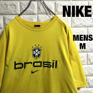 ナイキ(NIKE)のNIKE  ナイキ  ブラジルプリント 半袖Tシャツ メンズMサイズ(Tシャツ/カットソー(半袖/袖なし))