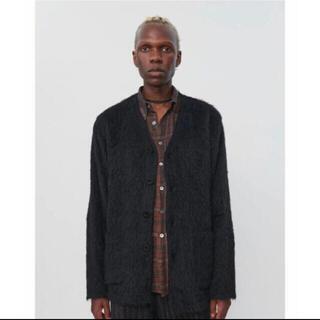 マルタンマルジェラ(Maison Martin Margiela)のOUR LEGACY CARDIGAN BLACK MOHAIR モヘア(カーディガン)